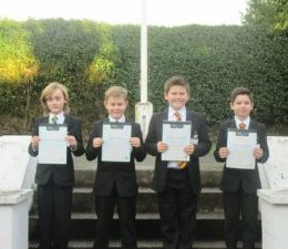 Brewood CE (C) Middle School Rocks The Exam Grade