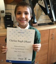Youngest pupil passes exam