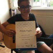 Highest Score At Guitar Rockschool Debut Exam