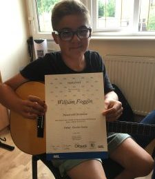 Highest Score At Guitar Rockschool Debut Exam