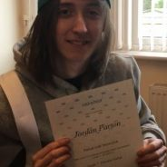 Rockschool Grade 7 Distinction for Jordan