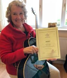 Exam Pass for 74 Year Old Margaret